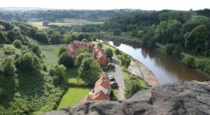 View from Larpool Viaduct