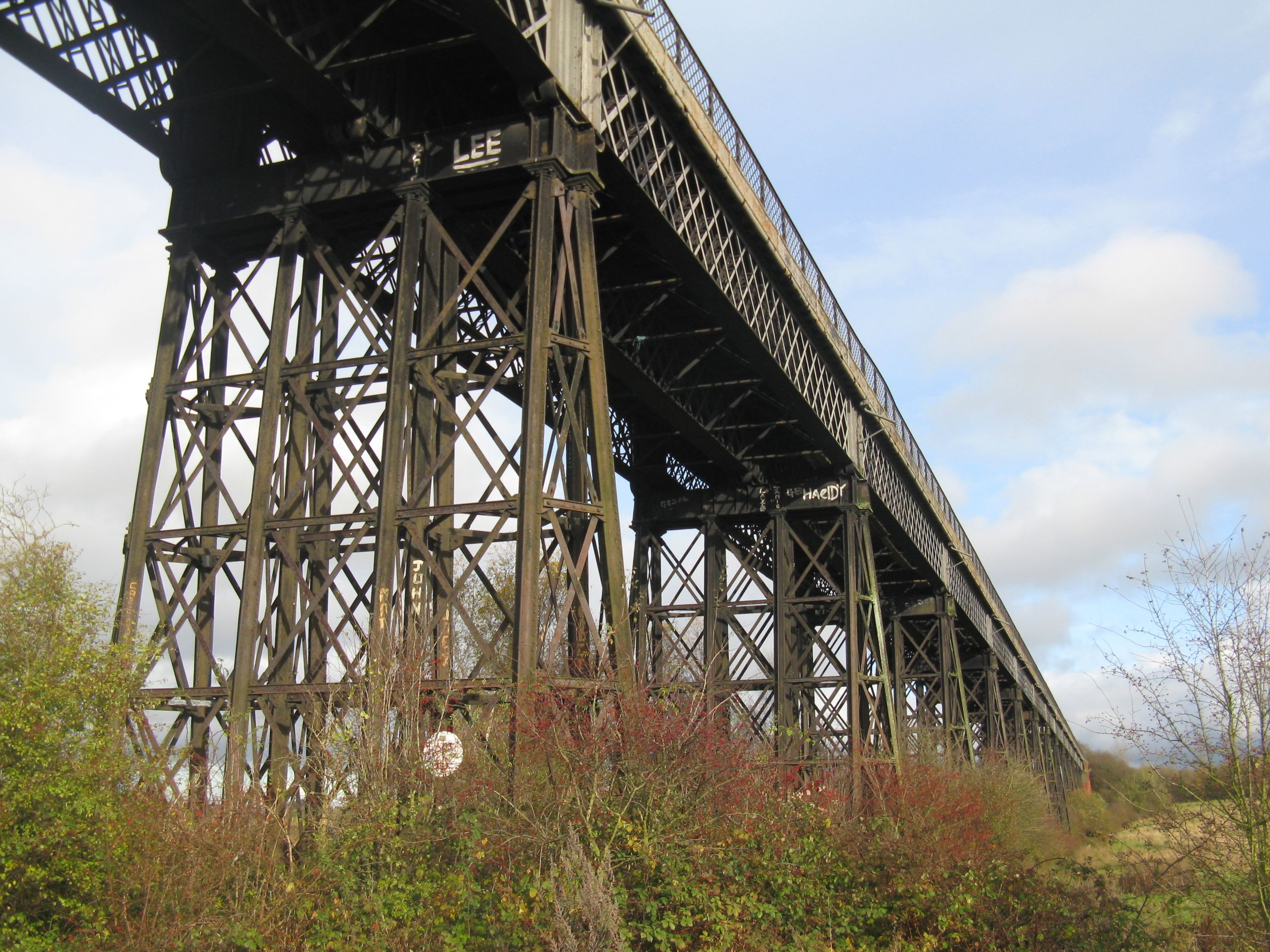Photo © RPL: Bennerley Viaduct